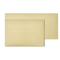 Koperta ozdobna Galeria Papieru Pearl C6/10szt. - złota