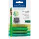 Kredki pigmentowe Faber-Castell Gelatos - 4 sztuki - zielone