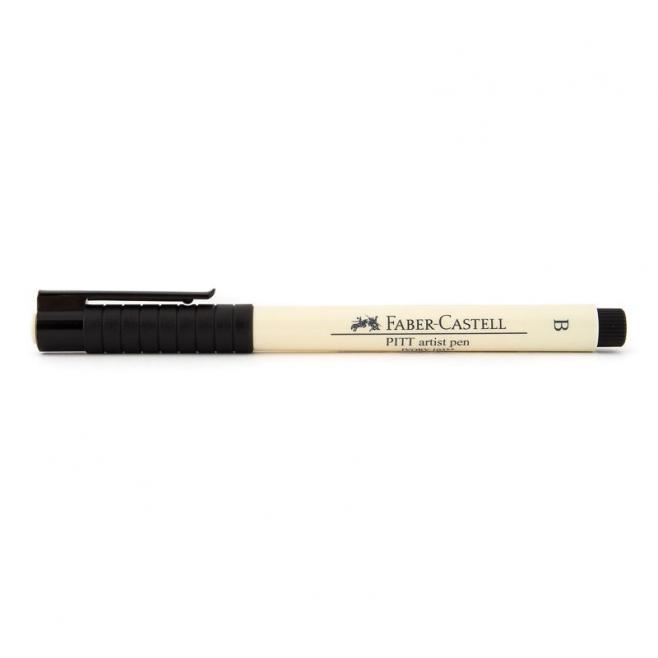 Pisak artystyczny Faber-Castell - PITT ARTIST PEN B - 103 - ivory /kość słoniowa/