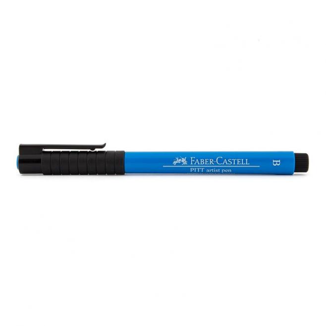 Pisak artystyczny Faber-Castell - PITT ARTIST PEN B - 110 - phthalo blue /ciemnoniebieski/