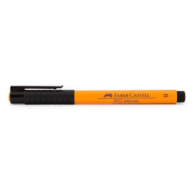 Pisak artystyczny Faber-Castell - PITT ARTIST PEN B - 113 - orange glaze /pomarańczowy/