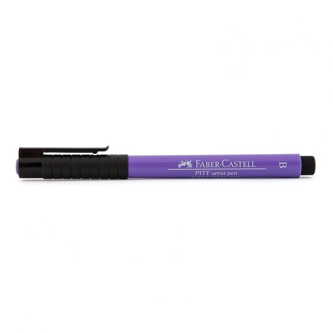 Pisak artystyczny Faber-Castell - PITT ARTIST PEN B - 136 - purple violet /purpurowo-fioletowy/