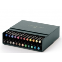 Pisaki artystyczne Faber-Castell - PITT ARTIST PEN - Studio Box - 24 kolory
