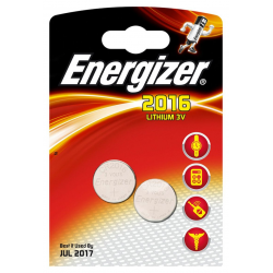 Bateria Energizer CR2016 - 2szt.