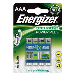 Baterie akumulatorki Energizer Power Plus AAA 700mAh- 4szt.