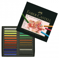 Pastele suche Polychromos Faber-Castell - 24 kolory