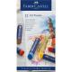 Pastele olejne Faber-Castell CREATIVE STUDIO QUALITY - 12 kolorów