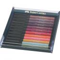 Pisaki artystyczne Faber Castell - PITT ARTIST PEN - EARTH - 12 kolorów