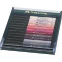 Pisaki artystyczne Faber Castell - PITT ARTIST PEN - SKIN - 12 kolorów