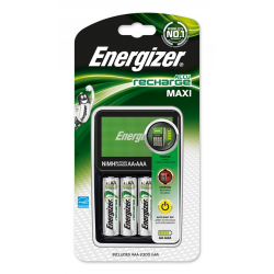 Ładowarka Energizer Maxi + 4 akumulatorki Power Plus AA
