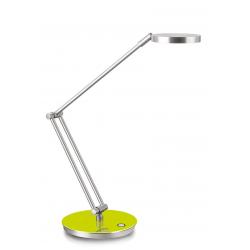 Lampka biurkowa Cep CLED-400 ze ściemniaczem - srebrno-zielona