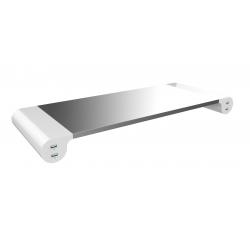 Podstawa pod monitor Unilux - srebrna