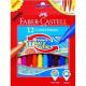 Pisaki z wsuwaną końcówką piszącą - 12 kolorów