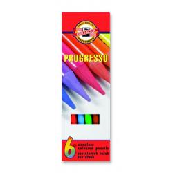 Kredki Koh-I-Noor Progresso - 6 kolorów