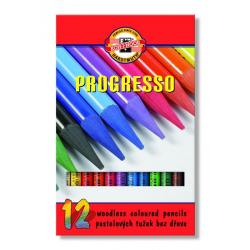 Kredki Koh-I-Noor Progresso - 12 kolorów