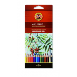 Kredki akwarelowe Koh-I-Noor Mondeluz - 12 kolorów