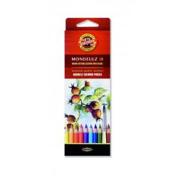 Kredki akwarelowe Koh-I-Noor Mondeluz - 18 kolorów