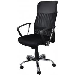Fotel biurowy Office Products CORFU - czarny