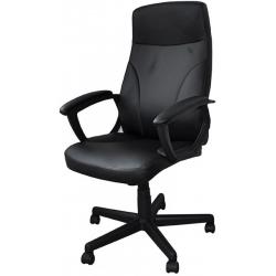 Fotel biurowy Office Products CRETE - czarny