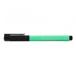 Pisak artystyczny Faber-Castell - PITT ARTIST PEN B - 162 - light phthalo green /jasny zielony/