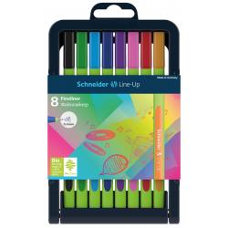 Cienkopis SCHNEIDER Line-Up - stojak 8 kolorów