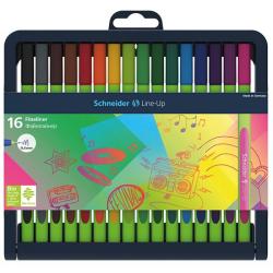 Cienkopis SCHNEIDER Line-Up - stojak 16 kolorów