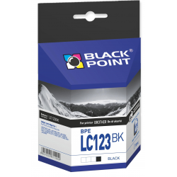 Atrament Black Point Brother LC123BK - czarny