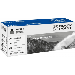 Toner Black Point HP CF287A - czarny