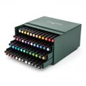 Pisaki artystyczne Faber-Castell - PITT ARTIST PEN - Atelier Box - 48 kolorów