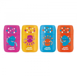 Gumka z temperówką Milan Compact Scary Monsters 4713116