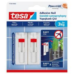 Gwoździe samoprzylepne Tesa regulowane do płytek i metalu 3kg/2szt.