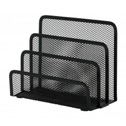 Sorter do korespondencji Q-CONNECT Office Set metalowy - czarny