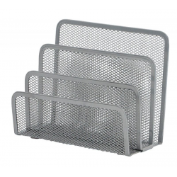 Sorter do korespondencji Q-CONNECT Office Set metalowy - srebrny