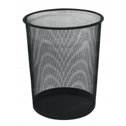 Kosz na śmieci Q-CONNECT Office Set metalowy 19l - czarny