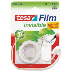 Taśma samoprzylepna TesaFilm Invisible 19mm/10m z dyspenserem