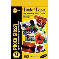 Papier fotograficzny Yellow One A4 130g/20ark. błyszczący