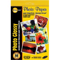 Papier fotograficzny Yellow One A6 230g/20ark. błyszczący