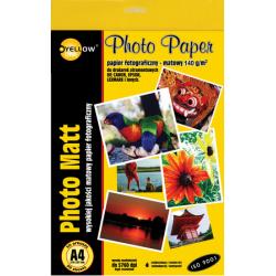 Papier fotograficzny Yellow One A4 140g/50ark. matowy