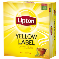 Herbata Lipton Yellow Label - 100 torebek