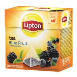 Herbata Lipton Blue Fruit Tea - 20 torebek