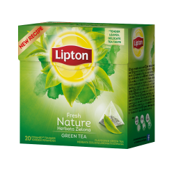 Herbata Lipton Green Tea Nature - 20 torebek