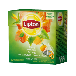 Herbata Lipton Green Tea Mandarynka i Pomarańcza - 20 torebek