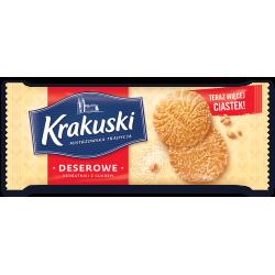 Ciastka Krakuski Deserowe z cukrem