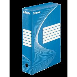 Pudło archiwizacyjne Esselte 80mm - niebieskie