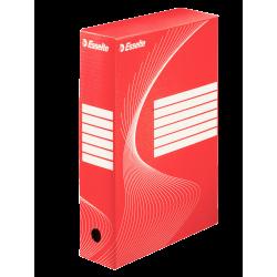 Pudło archiwizacyjne Esselte 80mm - czerwone
