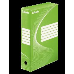 Pudło archiwizacyjne Esselte 80mm - zielone