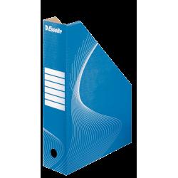 Pojemnik kartonowy na czasopisma Esselte 80mm - niebieski