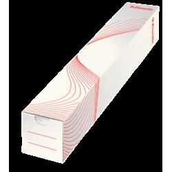 Tuba kartonowa na plakaty 500mm - biała