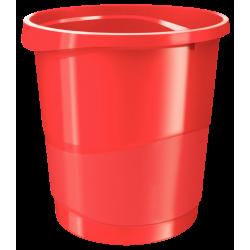 Kosz na śmieci Esselte Europost Vivida 14l - czerwony