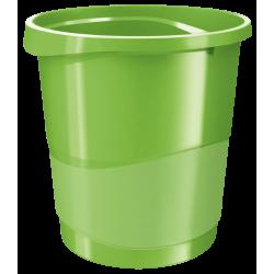 Kosz na śmieci Esselte Europost Vivida 14l - zielony
